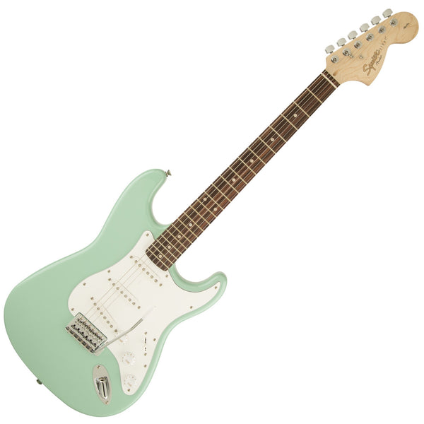 Squier 0370600557 Affinity Stratocaster Electric Guitar in Surf Green