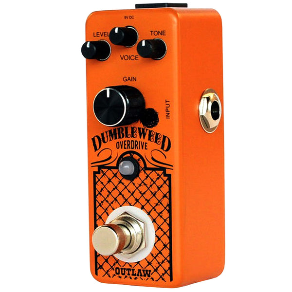 Outlaw Effects DUMBLEWEED D-Style Amp Overdrive Effects Pedal