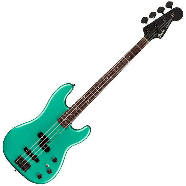 Fender Boxer Series MIJ PJ Bass Guitar in Sherwood Green Metallic - 0251760346