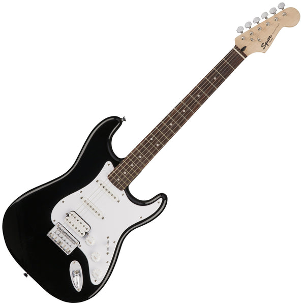 Squier 0371005506 Bullet Stratocaster HSS Hard Tail Electric Guitar in Black