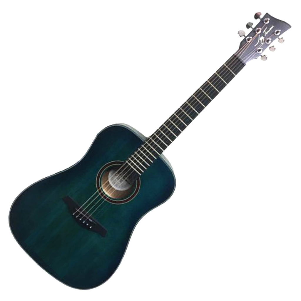 Jay Turser JTA53SBL 3/4 Steel String Acoustic Guitar in Satin Blue