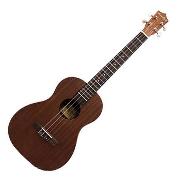 Beaver Creek BCUKEEB Baritone Mahogany Ukulele with Pickup and Bag