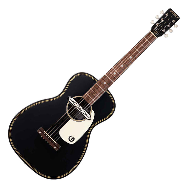 Gretsch G9520E Gin Rickey with Soundhole Pickup Acoustic Electric Guitar in Smokestack Black - 2705000506
