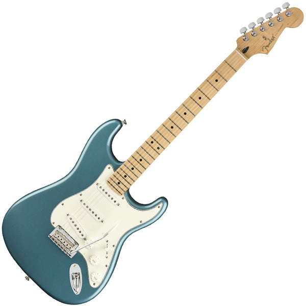 Fender 0144502513 Player Stratocaster Electric Guitar Maple Neck in Tidepool