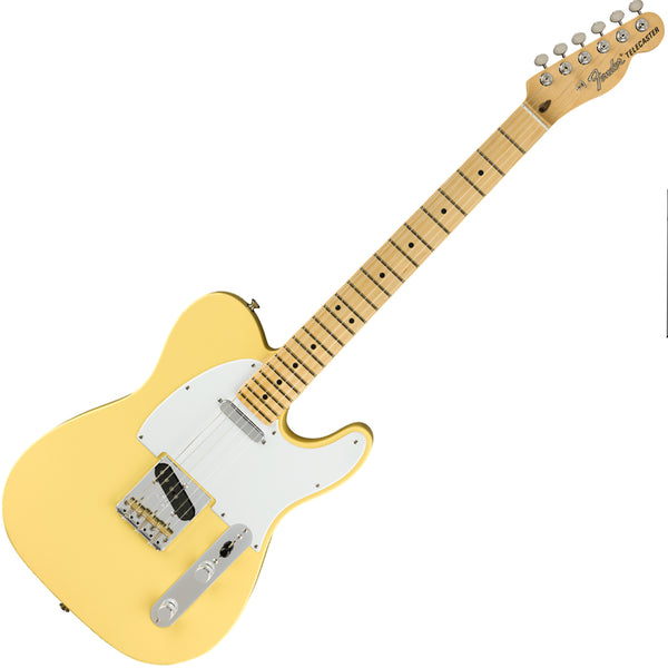 Fender 0115112341 American Performer Telecaster Electric Guitar Maple in Vintage White w/Bag