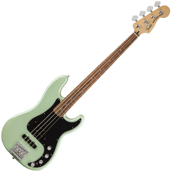 Fender 0143413349 Deluxe Active Precision Bass Special Bass Guitar in Surf Pearl