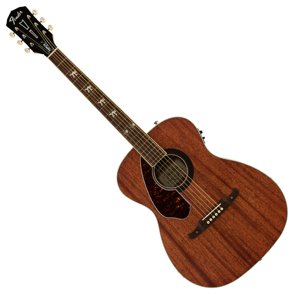 Fender Tim Armstrong Hellcat Left Hand All Mahogany Acoustic Electric in Natural - 0971757022
