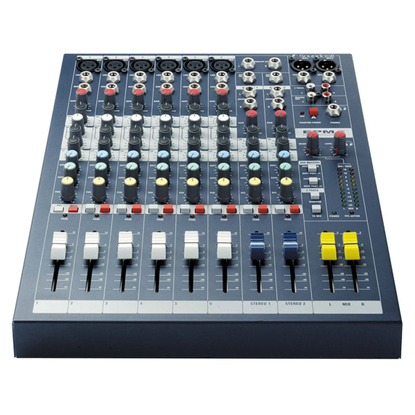 Soundcraft EPM6 10 Channel Non Powered Mixer w/6 Mic Inputs
