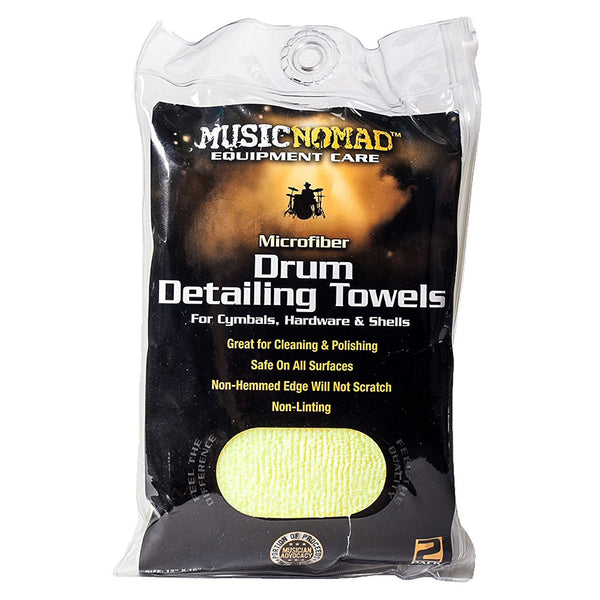 Music Nomad MN210 Drum Detailing Towel 2 Pack