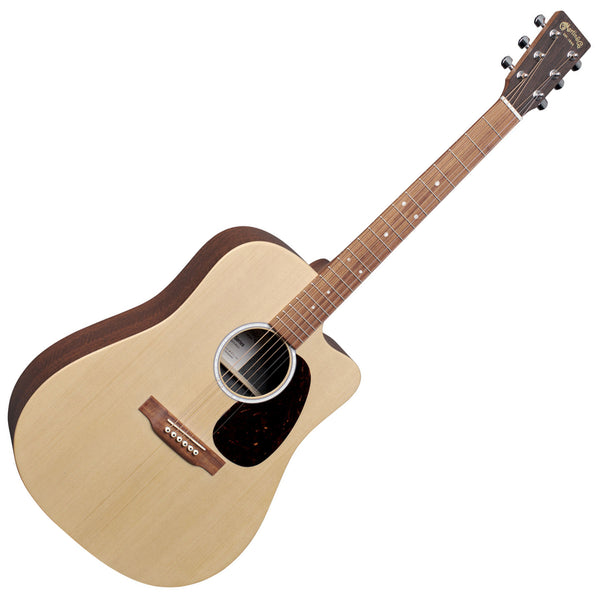 Martin X Series Dreadnought Acoustic Electric Mahogany with Bag - DCX2EMAHOGANY