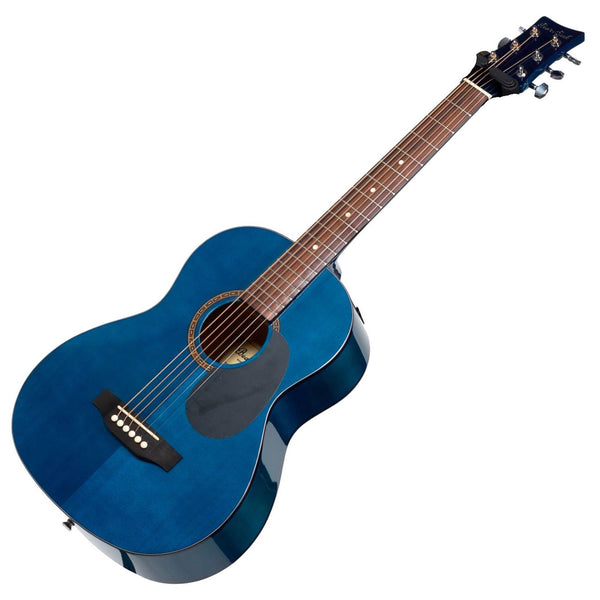 Beaver Creek BCTD401TB 1/2 Size Acoustic Guitar Blue w/Bag