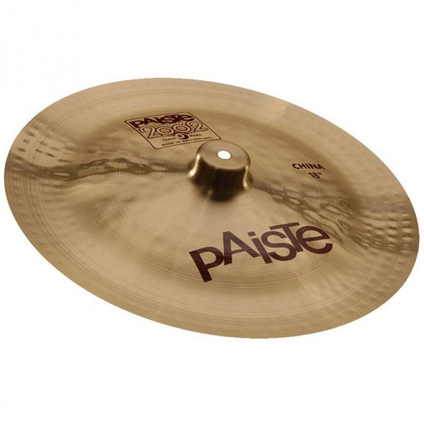"Paiste 1062618 2002 18"" China Cymbal"