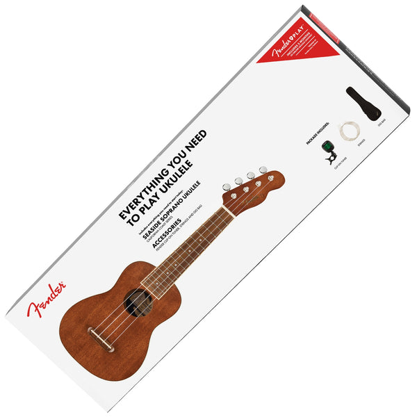 Fender Seaside Soprano Ukulele Pack - 971610022