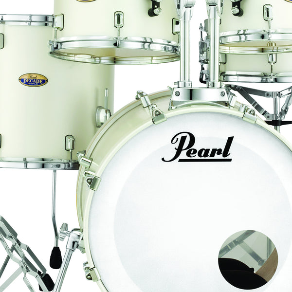 Pearl Decade Maple 3 Piece Shell Pack in White Satin Pearl - DMP943XPC229