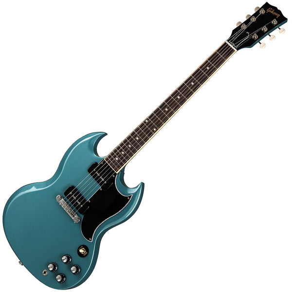 Gibson SG Special Electric Guitar in Faded Pelham Blue with Case - SGSP00PBCH