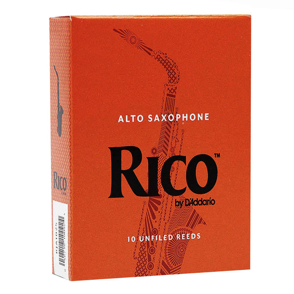 Rico RJA1030 10 Pack of # 3 Alto Saxophone Reeds