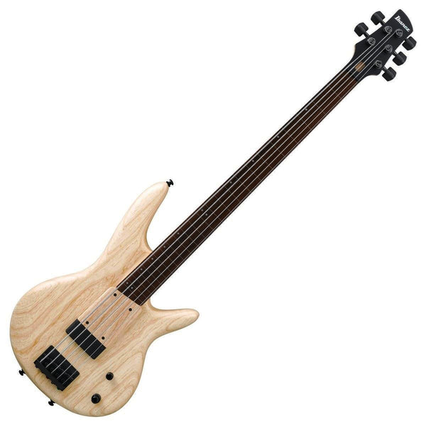 Ibanez Gary Willis Signature 5 String Bass Guitar in Natural Flat - GWB1005NTF