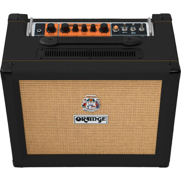 Orange ROCKER15BK Rocker 15 Watt Tube Guitar Amplifier in Black