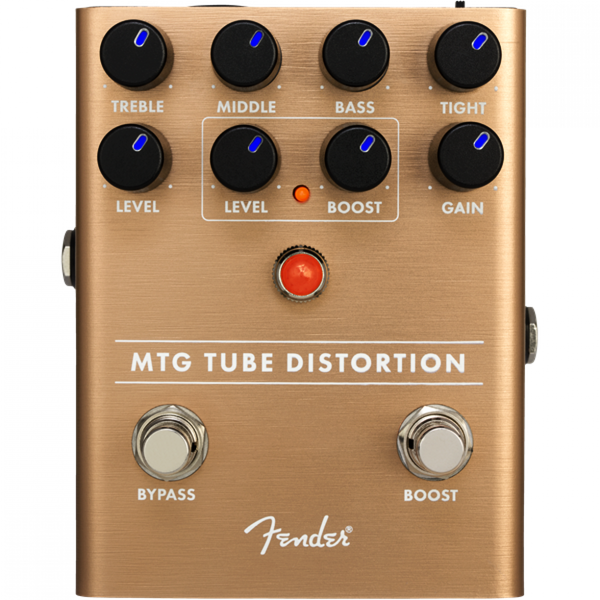 Fender MTG Tube Distortion Effects Pedal - 234539000