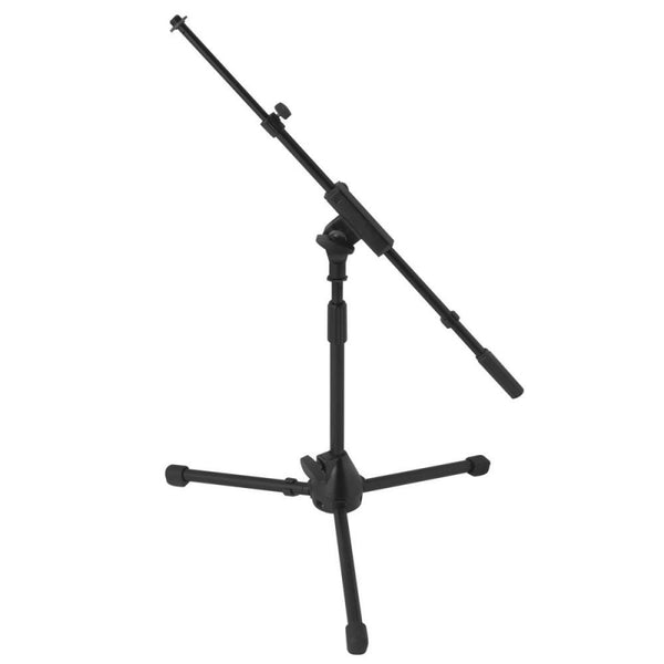 On Stage MS7411TB Short Adjustable Tripod Mic Stand w/Telescopic Boom