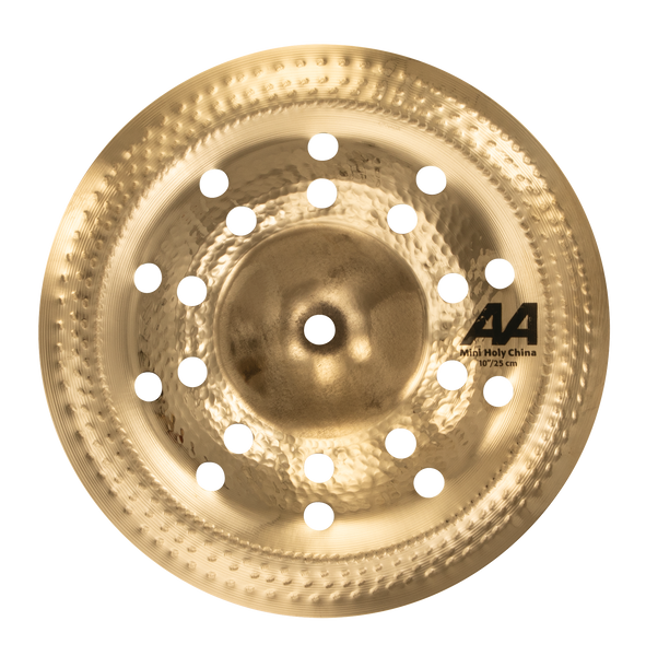 "Sabian 21016CSB 10"" AA Mini Holy China Cymbal Brilliant Finish"