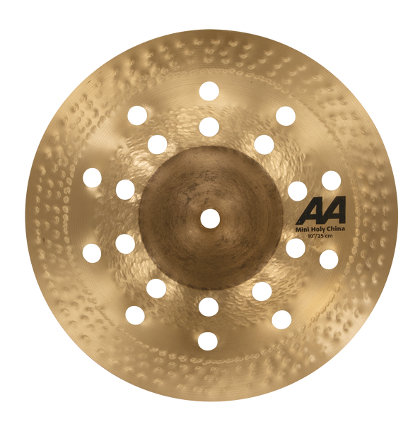 "Sabian 10"" AA Mini Holy China Cymbal - 21016CS"