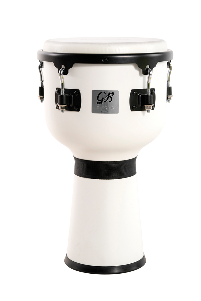 "Gon Bops FSDJWM10 10"" Djembe in White Magic"