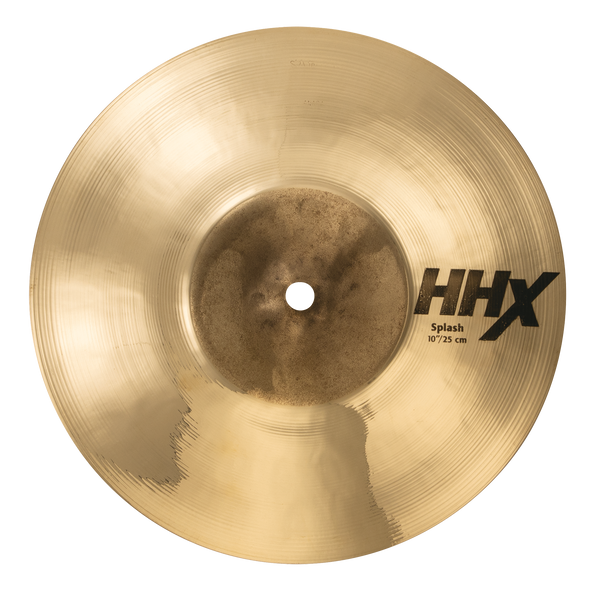 "Sabian 11005XB 10"" HHX Splash Cymbal Brilliant Finish"