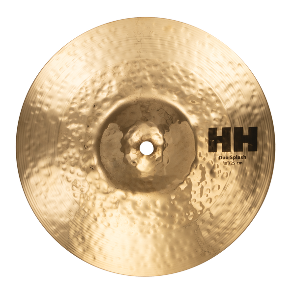 "Sabian 11065B 10"" HH Duo Splash Cymbal Brilliant Finish"