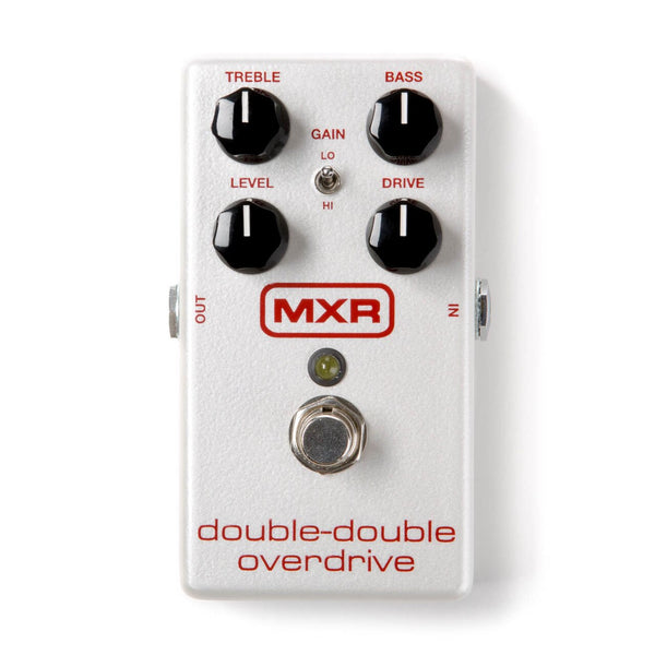 MXR M250 Double-Double Overdrive Effects Pedal