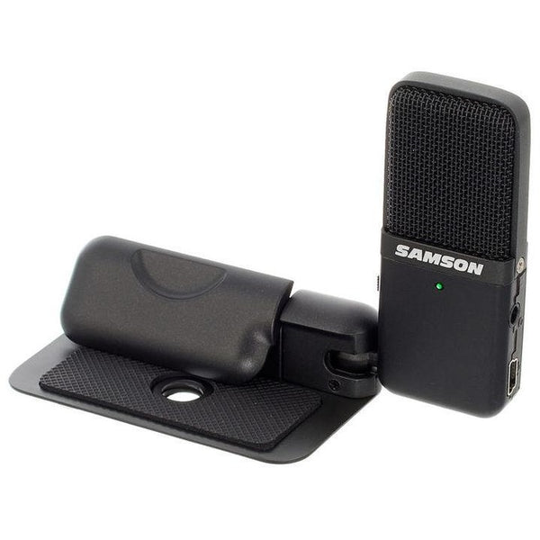 Samson GOMICB USB Cardioid Omnidirectional Laptop Microphone w/Software - Plug-and-Play