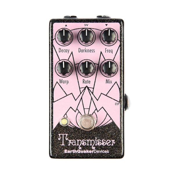 Earthquaker TRANSMISSER Modulated Reverb Effects Pedal