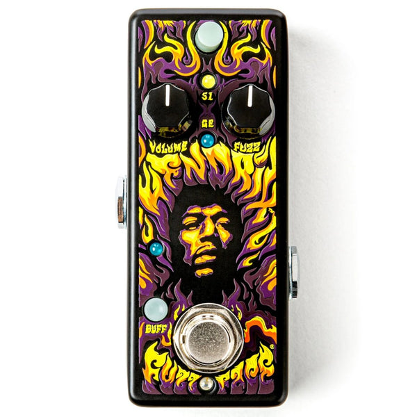 Dunlop JHW1 Authentic Hendrix '69 Psych Series Fuzz Face® Distortion Effects Pedal