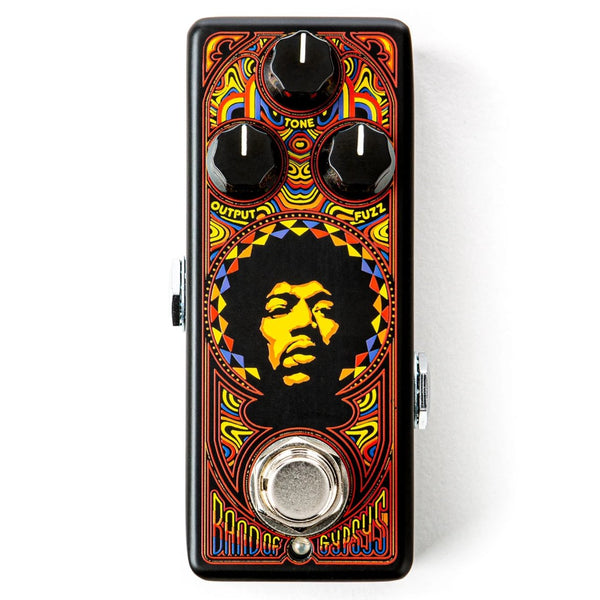 Dunlop JHW4 Authentic Hendrix '69 Psych Series Band of Gypsies™ Fuzz Effects Pedal