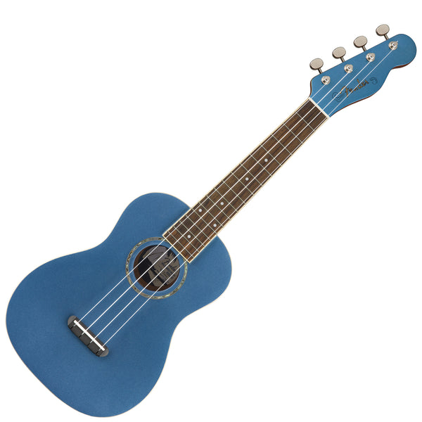 Fender 0971630002 Zuma Concert Ukulele in Lake Placid Blue
