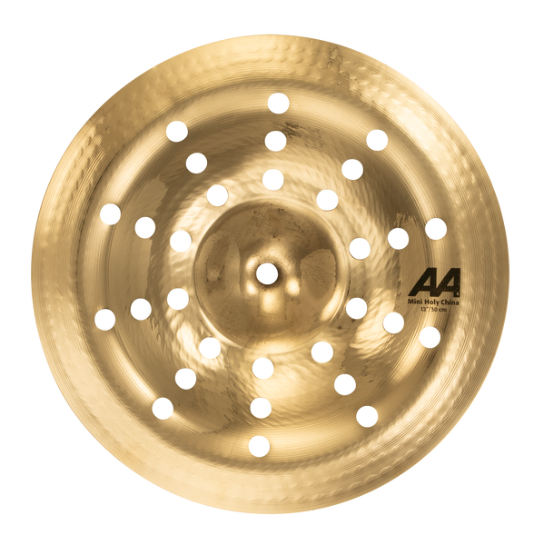 "Sabian 21216CSB 12"" AA Mini Holy China Cymbal Brilliant Finish"