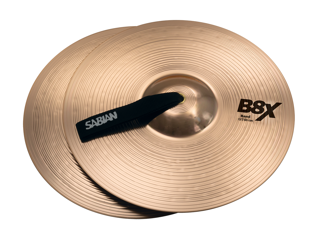 "Sabian 12"" B8X Band Single Cymbal - 41222X/1"