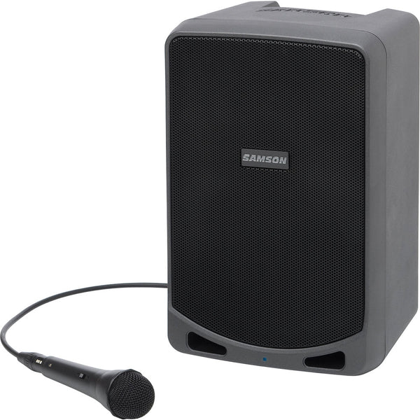 "Samson XP106 Expedition 100 Watt 6"" Speaker Portable PA System with Microphone"