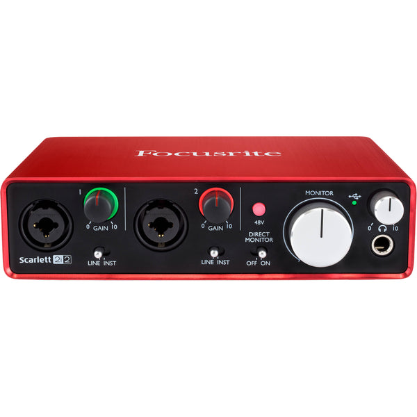 Focusrite SCARLETT2I2MK3 Scarlett 2i2 USB Audio Interface 3rd Gen