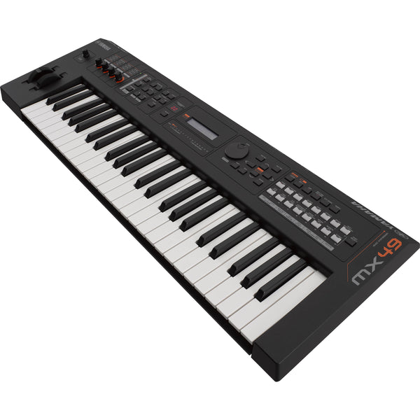 Yamaha 49 Note Synthesizer in Black - MX49BK