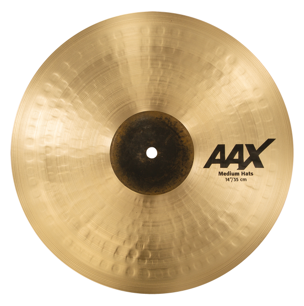 "Sabian 14"" AAX Medium Hi-Hats Cymbals - 21402XC"