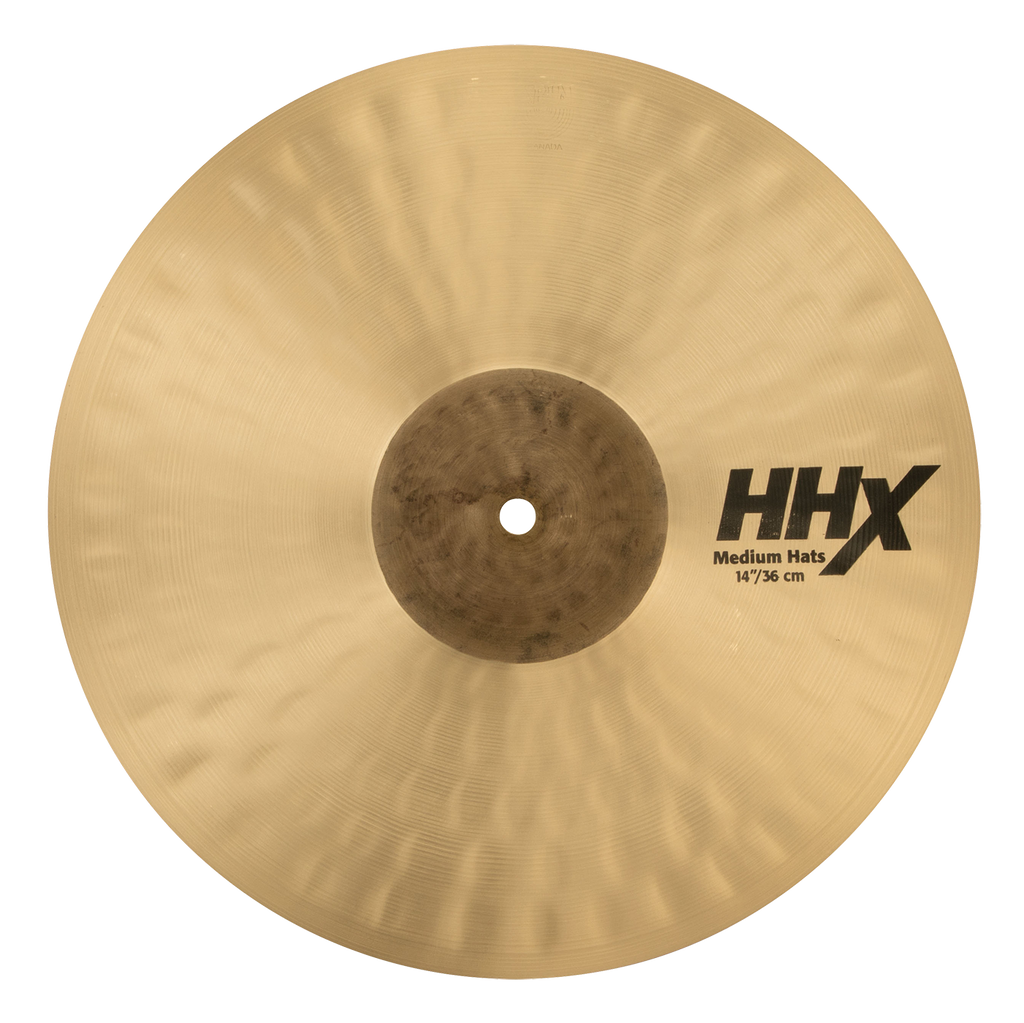 "Sabian 14"" HHX Medium Hi-Hats Bottom Cymbal - 11402XMN/2"