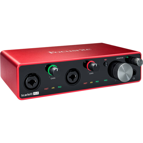 Focusrite SCARLETT4I4MK3 Scarlett 4i4 USB Audio Interface 3rd Gen