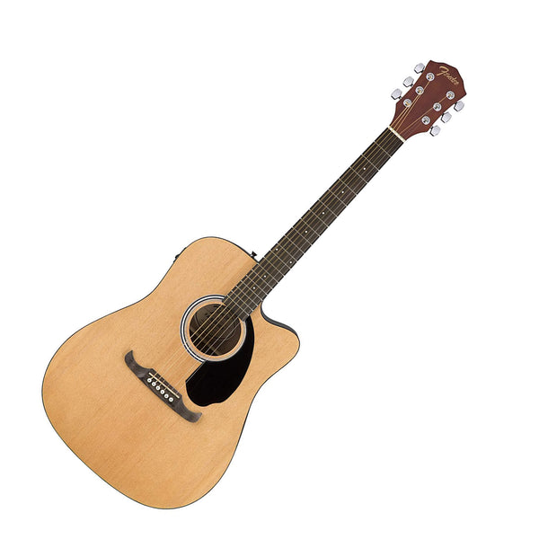Fender FA-125CE Cutaway Dreadnought Acoustic Electric in Natural - 971113521