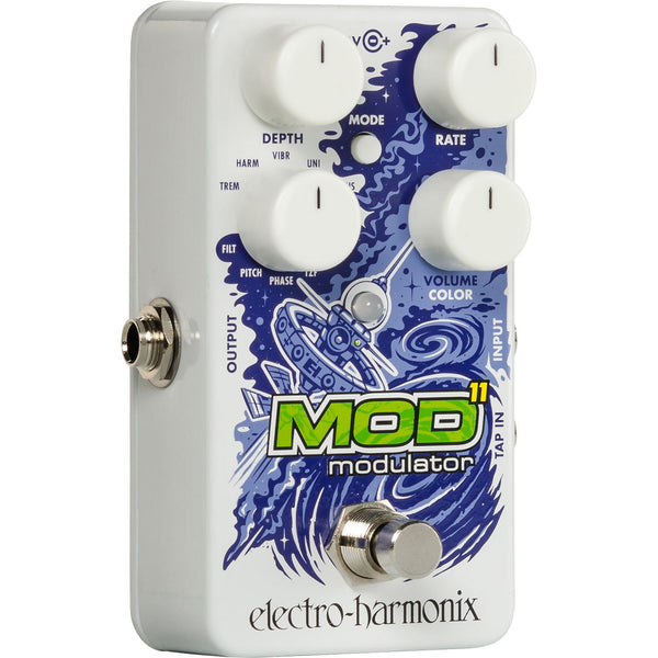 ElectroHarmonix MOD11 Tremolo Chorus Rotary Flanger Phase Pitch Modulator Effects Pedal
