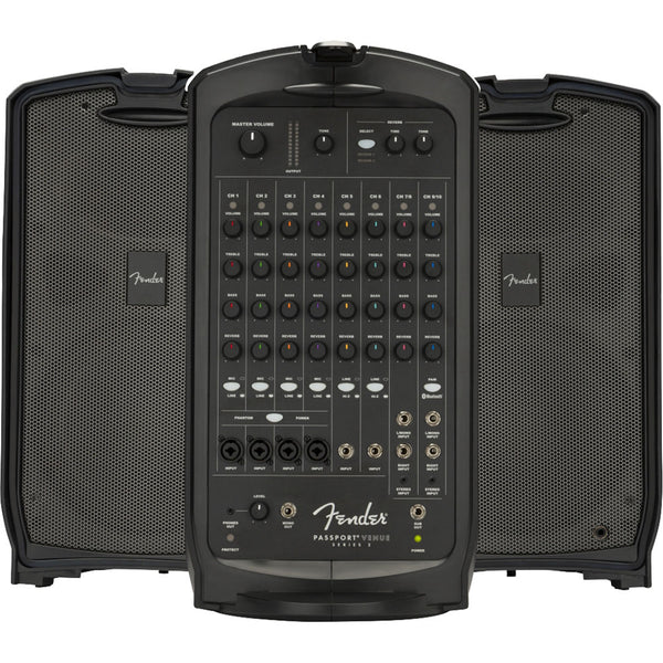 Fender 6944000000 Passport Venue Series 2 600-Watt Portable PA System