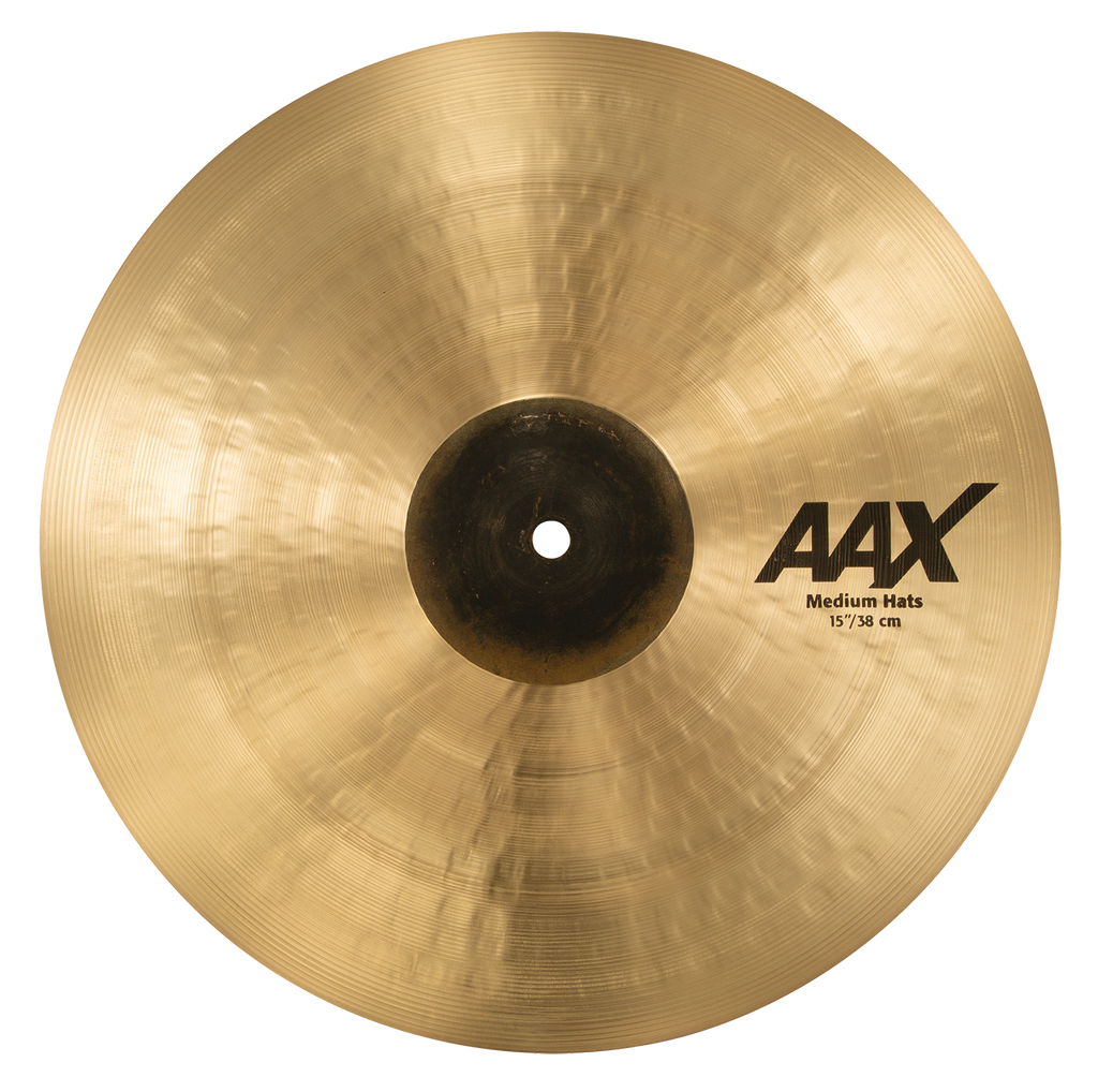 "Sabian 15"" AAX Medium Hat Top Cymbal - 21502XC/1"
