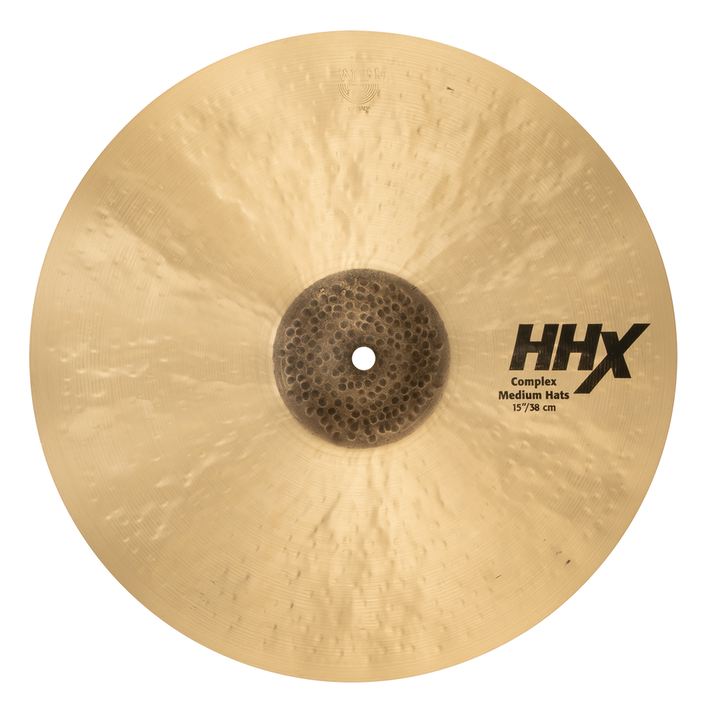 "Sabian 15"" HHX Complex Medium Hi-Hats Bottom Cymbal - 11502XCN/2"