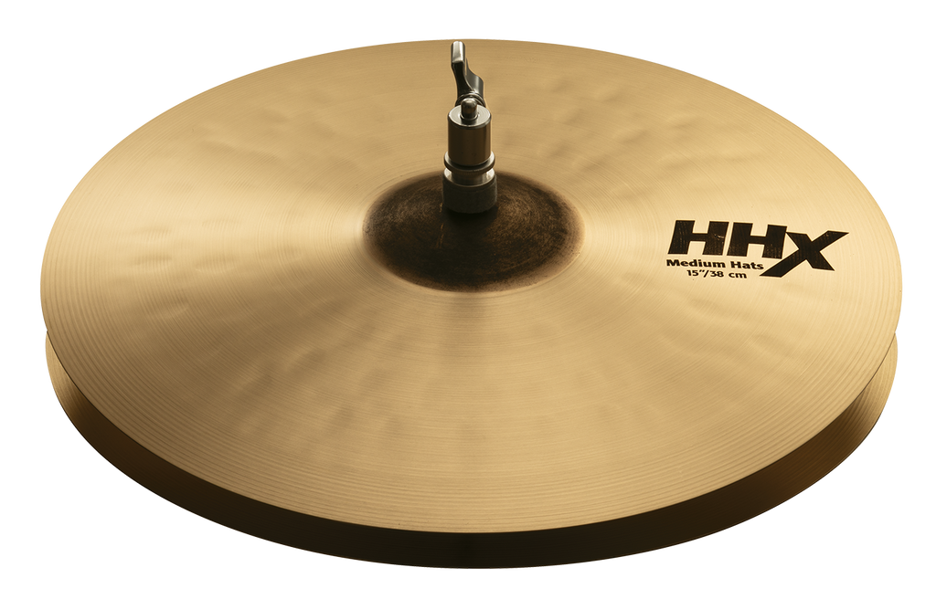 "Sabian 15"" HHX Medium Hat Top Cymbal - 11502XMN/1"