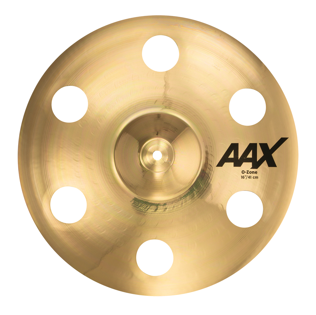 "Sabian 16"" AAX O-Zone Crash Cymbal Brilliant Finish - 21600XB"